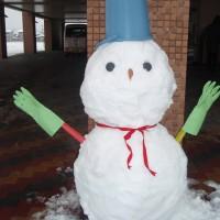雪だるま~(^u^)